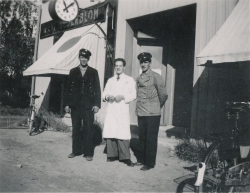 Firma Karl Söderblom Urmakeri Optik tidigt 1940-tal.