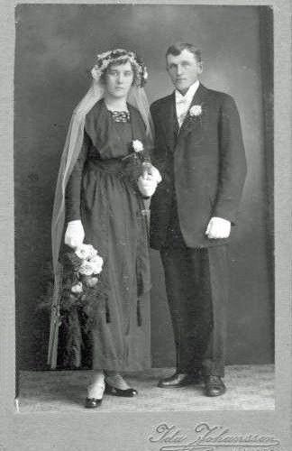 Edith Johansson och Gustaf Fridolf Viklund