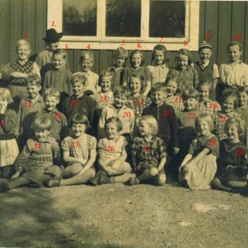 1945 Granträsk skola