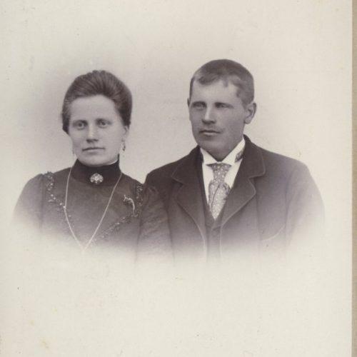 Hilma och Isak Öman