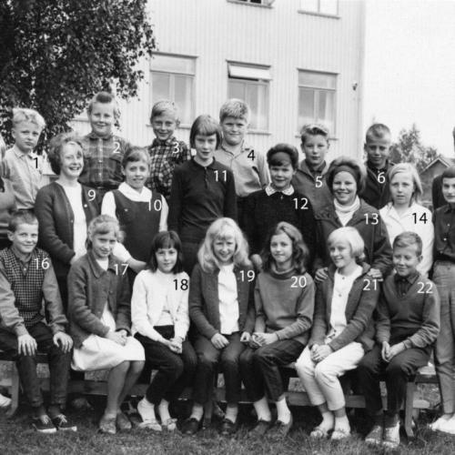 1962-63 klass 6 Korsträsk