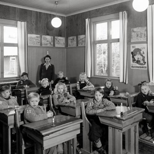 1948 klass 1 och 2 Laduberg