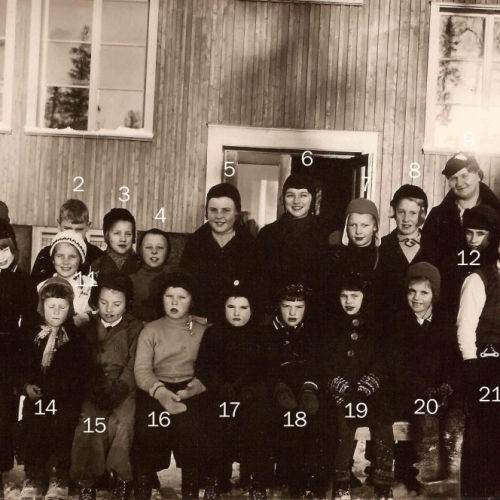 1937 skolkort från Laver