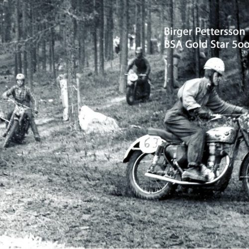 Birger Pettersson BSA Gold Star 500-cc