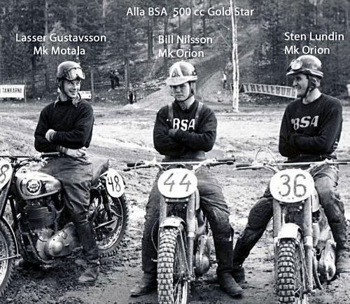 Lasse Gustavsson, 44 Bill Nilsson 36 Sten Lundin