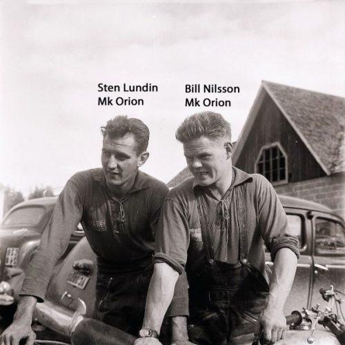 Sten Lundin och Bill Nilsson