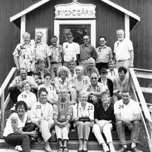 1994 klass återträff i Byagården Lillkorsträsk/Sågfors.