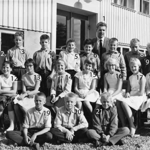1961 klass 6 Lillkorsträsk
