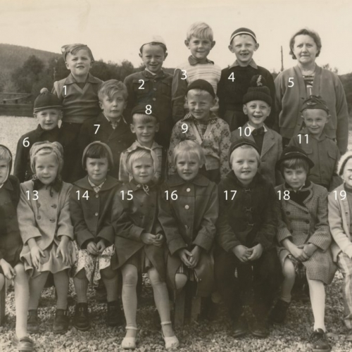 1956 Klass 1 A