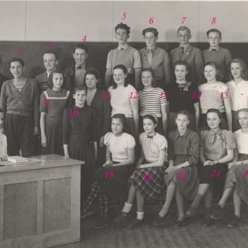 1947 Realskolan klass 1