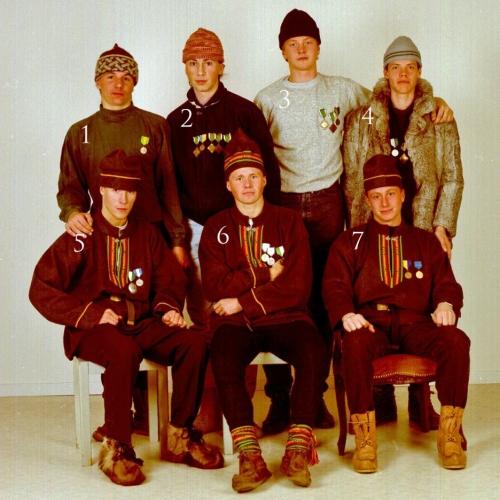 1989 Älvsby skidgymnasiums elever oktober 1989