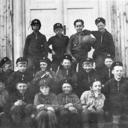 1933 Skolklass Älvsbyn
