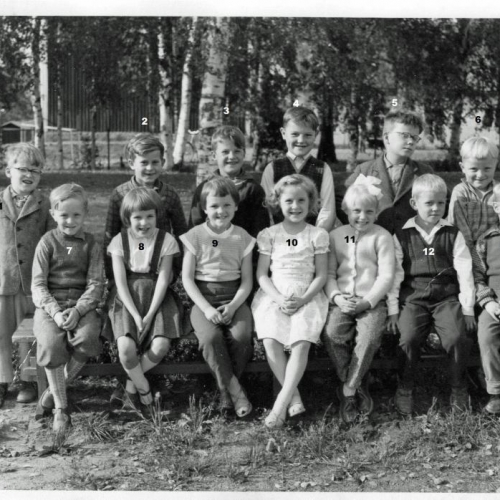 1957 Klass 1 i Tväråsel