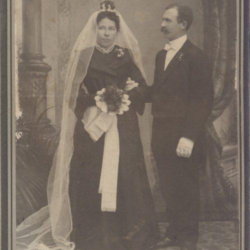 Johanna Sandström och Olof Oscar Andersson/Lundgren
