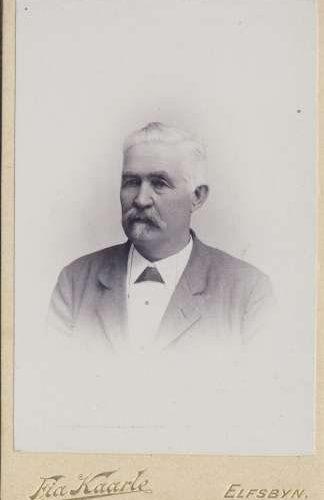 Skogsinspektor Magnus Pehrsson