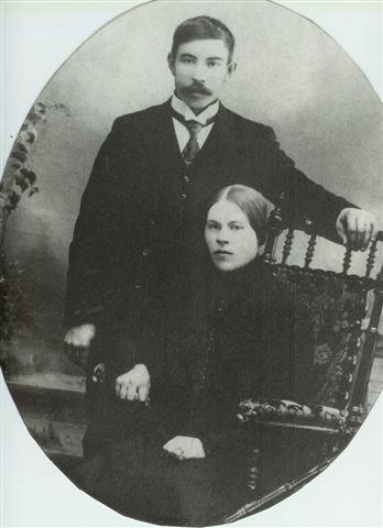 Johan Öberg och Elisabet Johansson