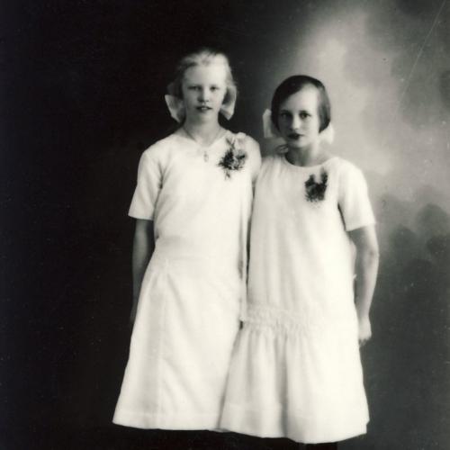 Tyra Pettersson och Göta Viklund