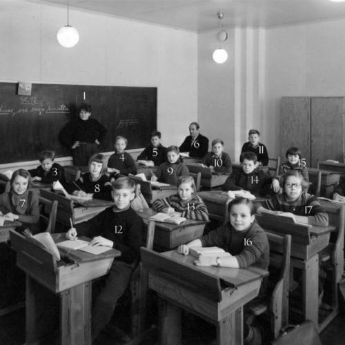 1956 klass 4 i Vistbäcken