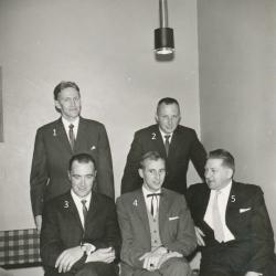Vistträsk fotbollslag 6. 1962