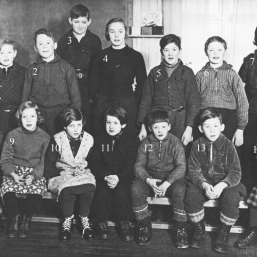 Skolklass i Vitberget