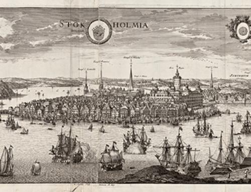 Databas med unika bilder av 1600-talets Sverige