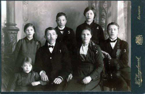 Familjen Oskar Bergdahl Altervattnet.