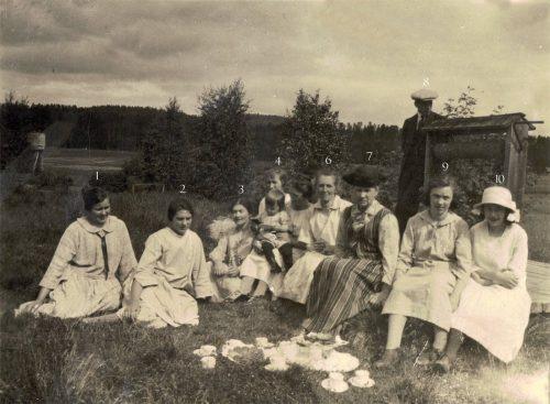 Jenny Lind, Selma Markstedt, Hanna, Agda, Emma