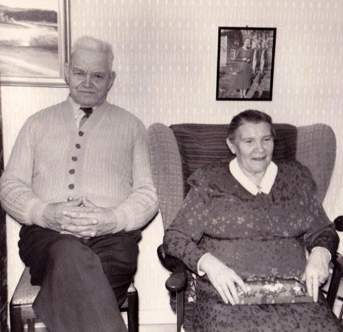 Oskar och Ingeborg Öberg