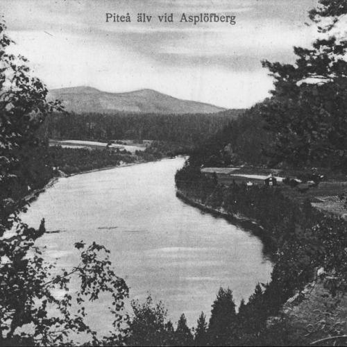 Pite älv vid Asplöfberg