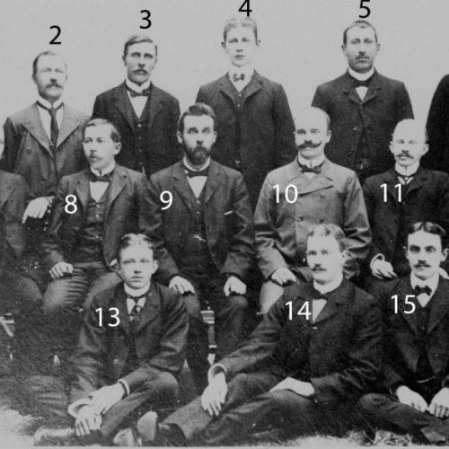 Chefer och anställda hos AB Löfgrens & Co 1905