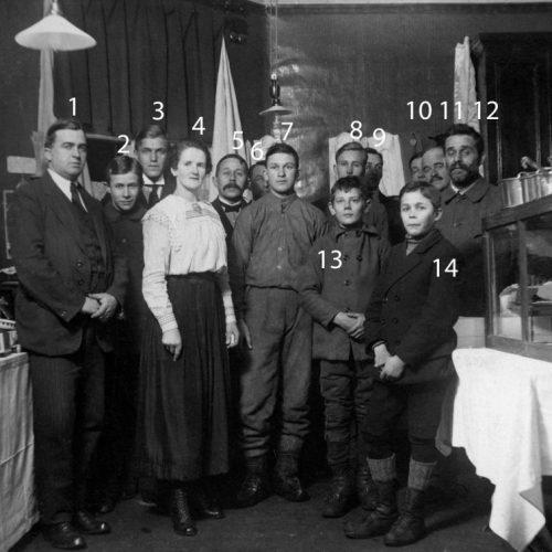 Julmarknad Löfgrens affär 1919