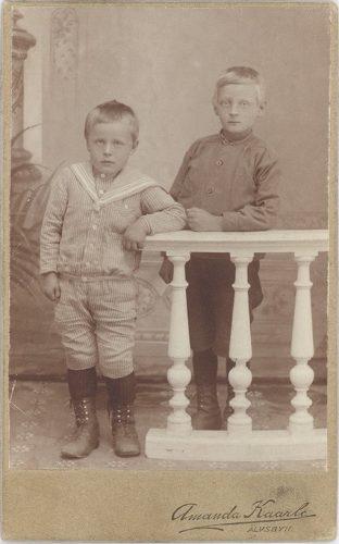Ernst och Birger Johansson