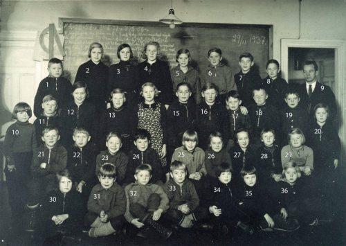 1937-11-29 Skolkort från Granträsk