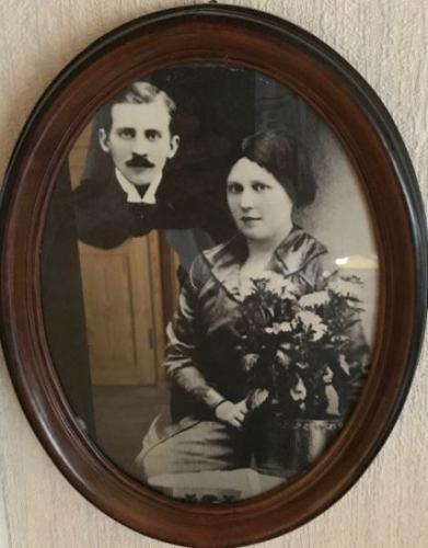 Gustaf* Fridolf Viklund och Edit* Johanna Johansson