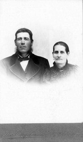 Johan Lundgren och Brita Lovisa Viklund