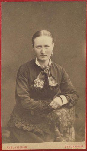 Johanna Lovisa Johansdotter/Markström f.1865-11-27 Granträsk.