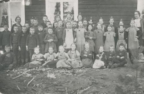 1921 Skolbarn från Granträsk II
