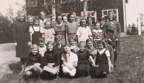1941 Granträsk skola