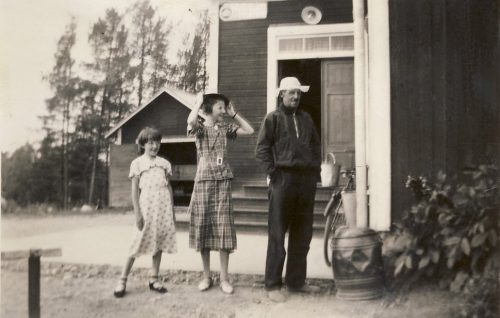 Telegrafen i Granträsk 1937