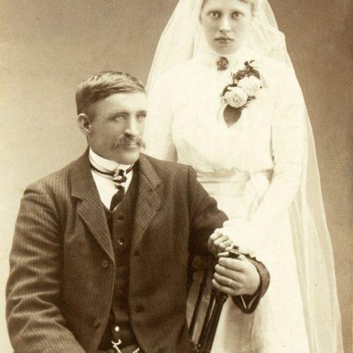 Karl Sundberg och Lova Bergman