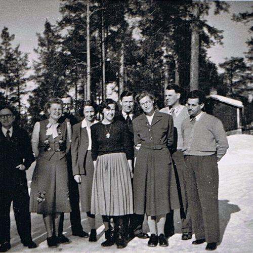 Kommunal tjänstemän 1952