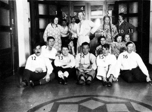 Patienter Sandträsk sanatorium