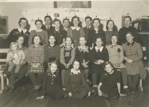 Ebeneser/Korskyrkan. Ungdomsdagarna i Älvsbyn 3 januari 1944