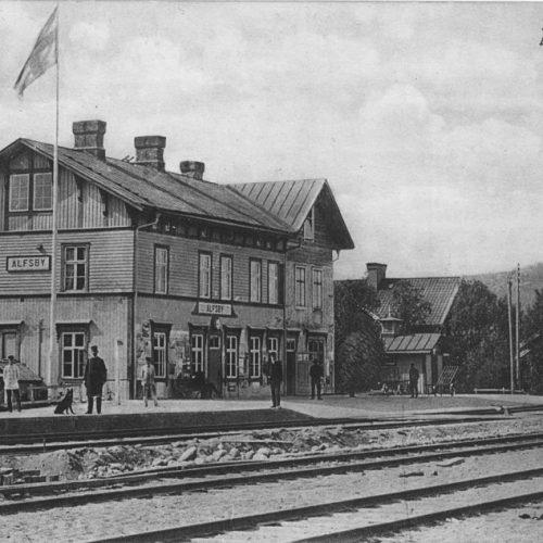 Älfsby Station 1914