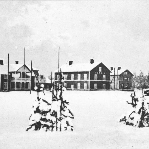 Älvsbyns stationsområde.