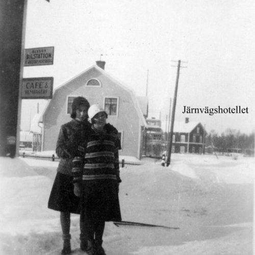 Älvsby Bilstation på 1930 talet