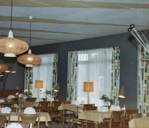 Konrads konditori & restaurangs servering