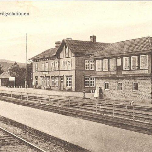 Älvsbyns Järnvägsstation före 1914