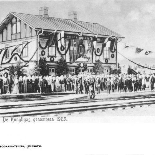 Elfsby Station De Kungligas Genomresa