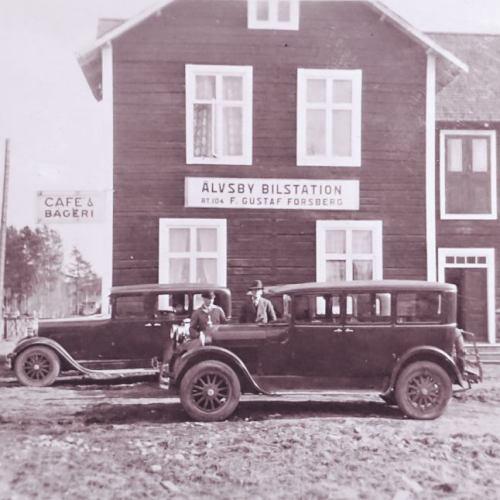 Älvsby Bilstation 1927-30